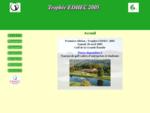 Trophée EDHEC Première édition 2005