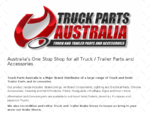 Truck Parts Australia - Genuine and Aftermarket parts to suit most Semi-Trailers, American, Europe