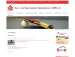 Tischtennisabteilung TSV Steinenbronn 1900 e. V.