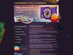 PINIGŲ SRAUTAS 101 - Finansinis Stalo Žaidimas