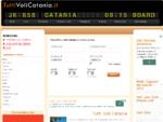 VOLI CATANIA. Tutti i Voli low cost le offerte da e per Catania