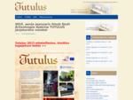 2015. aasta jaanuaris ilmub Eesti Arheoloogia Ajakirja TUTULUS järjekordne number » Tutulus