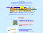 Ufficio Meteorologico Aeroportuale - U. M. A. Home Page