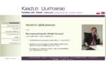 Kanzlei Rechtsanwalt Witold Ulatowski - Fachanwalt für Bau- und Architektenrecht