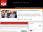 Union Locale CGT Paris 11 - Les syndicats CGT du 11ème arrondissement de Paris