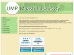 UMP Maastohitsaus Oy Etusivu