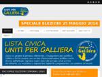 Homepage - Lista Civica Uniti per Galliera - Comune di Galliera BO