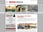 Univerzal Mr269;kovac - Aluminijumska i PVC stolarija, Prohromski gelenderi