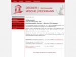 Decker | Mische | Peckmann, Rechtsanwälte, Kassel - Kanzlei