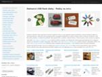Reklamnà USB flash disky, potisk, laser | USBpromo. cz