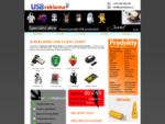 Reklamní USB flash disky, USB reklamní předměty | USBreklama. cz