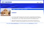 OÜ Vakimaa - Tasuta koduleht - Firmast