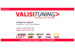 VALISI TUNING - Motorrad - Reparatur - Verkauf