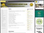Vänersborgs Hockey - Välkommen till Vänersborgs Hockey Club
