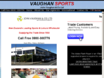 John Vaughan Co NZ Sports and Outdoor Equipment