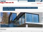 Hjem | Vestfold Bygg & Rekkverk as – Totalleverandør av glassrekkverk