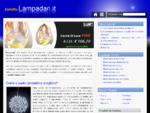 Vendita lampadari Specialisti nella vendita lampade online