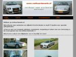 Porsche boxster | Audi TT | Huren | Trouwen | Verhuur