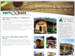 Vert et bois, conception et réalisation de petits chalets, mazots et roulottes