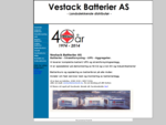 Vestack Batterier AS - Powered by Proweb