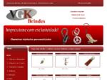 VGK Brindes Promocionais - Chaveiros - Chaveiro Couro - Resinado - Sapucaia - Canoas - Esteio - Port