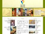 Victor Gallery - Γκαλερί, Έργα τέχνης σε καμβά, τοιχογραφίες, φωτεινό πλαίσιο