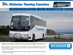 Victorian Touring Coaches - Coach and Bus Hire Melbourne