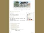 Secesní vila Primavesi Olomouc - Vítejte