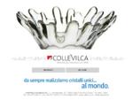 ColleVilca - Cristalleria crystal factory crystalware VILCA produzione cristallo fatto a mano hand ...