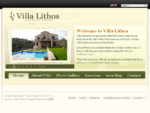 Villa Lithos - Family House in Chania Crete Greece