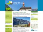 Villa Ottone, paesino in Val Pusteria, Hotel Villa Ottone