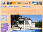 La escala location d'une belle villa, avec piscine privée au calme et a 2 pas de la plage - La Esc