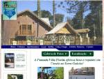 Pousada Villa Fiorita Canela RS Pousadas e Hotéis em Canela Rio Grande do Sul Cabanas em Can