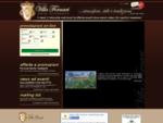 Hotel Ristorante Relais Villa Fornari Albergo Camerino Macerata Marche - HOME