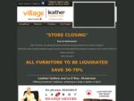 Village Leather Furniture Niagara Falls Leather Furniture Store La-Z-Boy Showroom
