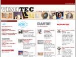 VIMITEC - Elastomeri poliuretanici, spessori metallici sfogliabili, guarnizioni, pinze per l'ind