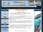 VINCI-QUIZ RICARICA Ricarica gratis cellulare Suoneria e suonerie