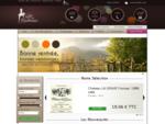 La société Vins et Cadeaux vous propose la vente en ligne de vins de tables et de grands crus, v...
