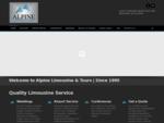 Alpine Limousine Tours | Banff Limousine Rental | Wedding Car Hire
