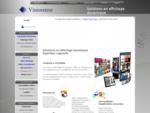 VisioSense - Affichage dynamique - PLV dynamique - Digital Signage Accueil