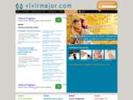 Vivir Mejor Salud y Calidad de Vida, Divulgación medico sanitaria con audio y video. Noticias para