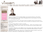 Fashion accessories online for hair, face and nails by Vixxen