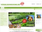 VOGELSCHEUCHE.DE Effektive Vogelabwehr für Landwirtschaft, Haus und Garten seit 1996