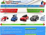Voiture Électrique Pour Enfants | Moto Électrique | Go-Kart à Pédale
