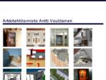 Arkkitehtitoimisto Antti Voutilainen | asuntosuunnittelu, ullakot, hissit ja linjasaneeraukset -