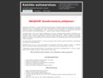 autoservisas - Kalotės autoservisas
