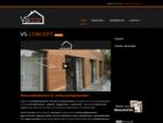 Home | VS Concept | Totaal renovatie, verbouwingswerken, schrijnwerker