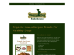 Waggy Dog Bakehouse | Organic Home-Baked Treats for Healthy Dogs