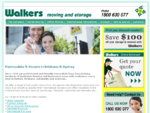 Removalists Sydney, Brisbane | Home Office Furniture Removals | Walkers Moving and Storage