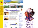 Wasserwandern MV, paddeln per Kanu und Kajak in Mecklenburg Vorpommern, Kanuverleih , Camping, ...